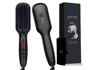 Arkam-Premium-Ionic-Beard-Straightener-Comb