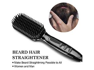 SEGMINISMART-PTC-Ceramic-Men-Beard-Straightener-Comb