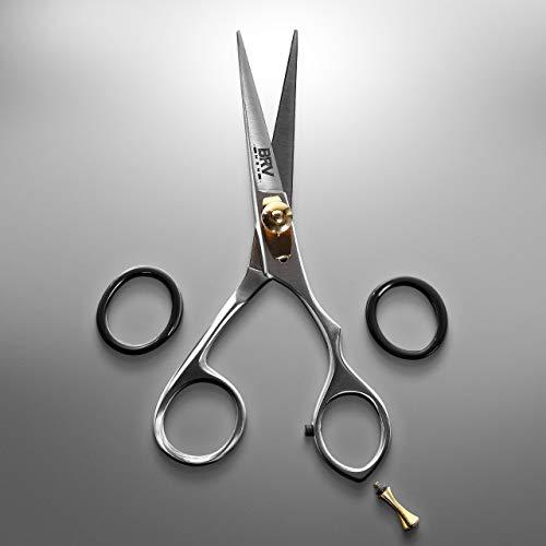 BRV Men Mustache & Beard Trimming Scissors